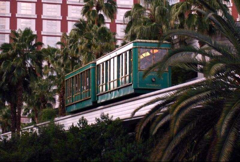 Tram From Treasure Island To Mirage